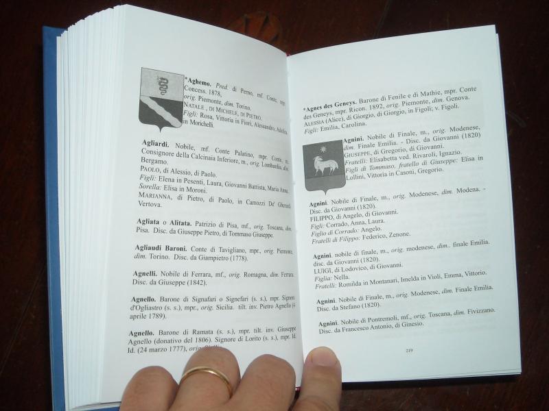 Libro di oro della nobilta italiana